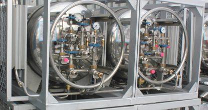 Комбинированные газификаторы (на базе нескольких криоцилиндров 500 л)